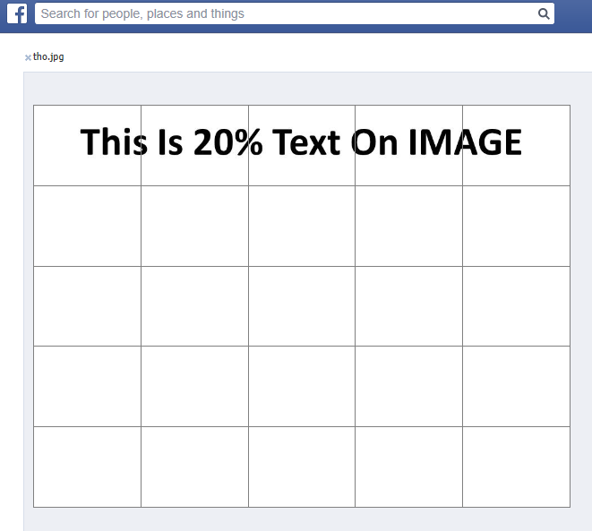 Faceboook overlay tool